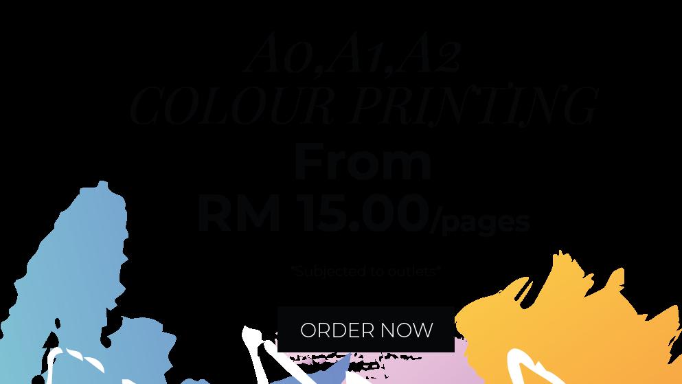 A0-A2 COLOUR PRINTING